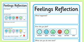 Feelings Reflection - Feelings, Reflection, Think, Emotions, Feel