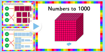 Recognise the Place Value of Each Digit in a 3 Digit Number PowerPoint - place value, powerpoint