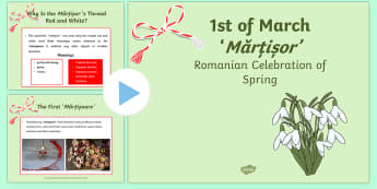 1st of March Romanian Celebration of Spring PowerPoint - romanian, 1st of march, informative, powerpoint, information, festival, celebration,romanina, twinke