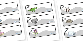 Magpie Themed Editable Drawer-Peg-Name Labels - Themed Classroom Label Templates, Resource Labels, Name Labels, Editable Labels, Drawer Labels, Coat Peg Labels, Peg Label, KS1 Labels, Foundation Labels, Foundation Stage Labels, Teaching Labels