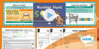 PlanIt Maths Y1 Addition and Subtraction Lesson Pack Exploring Number Bonds (6)