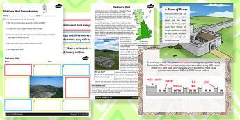 Hadrian's Wall Task Setter Activity Powerpoint - hadrians wall