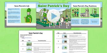 St Patrick's Day Assembly Pack - St Patrick's Day, assembly, pack, assembly pack