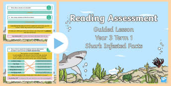 Year 3 Reading Assessment Non-Fiction Term 1 Guided Lesson PowerPoint - Year 3, term 1, Reading Assessment Guided Lesson PowerPoints, KS2, reading, read, assessment, guided