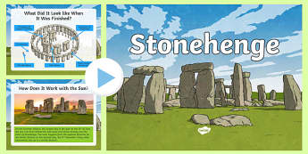 Stonehenge Facts and Quiz PowerPoint
