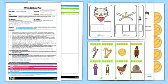 Climb The Beanstalk Oral Blending and Segmenting EYFS Adult Input Plan and Resource Pack