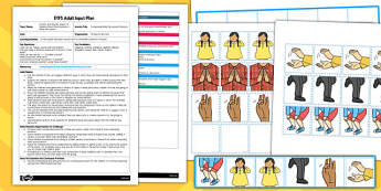 Composing Body Percussion Patterns EYFS Adult Input Plan and Resource Pack