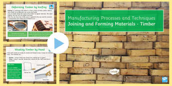Joining and Forming Timber: Complete Guide Lesson Pack - Key Stage 4, Design & technology, process, GCSE, project, iterative, timber, wood, manufacturing, ma