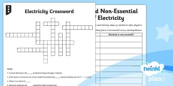 Science: Electricity Year 4 Home Learning Tasks