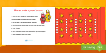 Make Your Own Chinese New Year Lantern - how to make, making, your own, make, craft, chinese new year, chinese new year lantern, new year lantern, chinese lantern, make your own chinese lantern, chinese, chinese new year craft, creative, instruction,