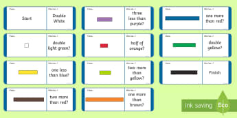 KS1 Number Rods Recognition Loop Cards - Cuisenaire, Number Rods, Loop Cards, Recognise, Value, Visual representation, concrete, pictorial, l