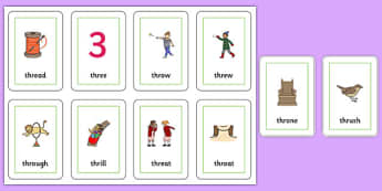 THR Sound Flash Cards - speech sounds, phonology, articulation, speech therapy, cluster reduction