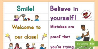 Motivational Light Box Inserts - quotes, positive thinking, display, growth mindset
