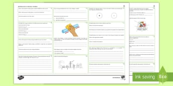 AQA Physics GCSE Unit 4.2 Electricity Foundation Revision Activity Mat  - Current, Potential Difference, Resistance, electrical charge, resistors, series circuit, parallel ci