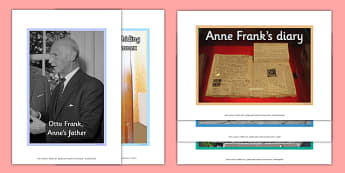 Anne Frank Poster Pack - anne frank, world war 2, nazi, germany, jewish