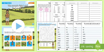Year 1 Term 1B Week 6 Spelling Pack - Spelling Lists, Word Lists, Autumn Term, List Pack, SPaG