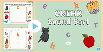 CKEHR Initial Sounds PowerPoint Game-Australia - EYLF, Literacy, language, phonics, phase 1, letters and sounds, phonological awareness, kindergarten