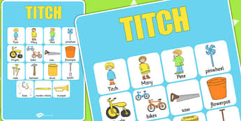 Vocabulary Poster to Support Teaching on Titch - stories, story books, vocab, display