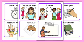 Co-operative Group Cards - working together, class management