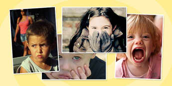 Emotions Photo Clip Art Pack - Feelings, Photos, Displays, Visual