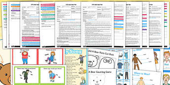 EYFS All About Me My Body Adult Input Planning and Resource Pack - planning pack