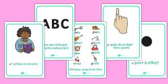Ce să reținem atunci când scriem? - Planșe - reținem, scriem alineat, planșe, scriere, reguli de scriere, materiale, materiale didactice, română, romana, material, material didactic