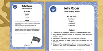 Jolly Roger Edible Sensory Recipe