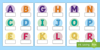 Alphabet Themed Self-Registration Labels - Alphabet Themed Self Registration Labels - alphabet, labels, aplhabet, aphabet, alphablet, alpahabet