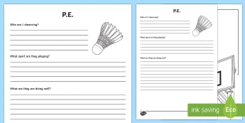 PE Observation Sheet - pe, physical education, observation sheet, observe, observation