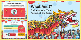 Dragons in the City What am I? PowerPoint - Twinkl Originals, fiction, Chinese New Year, Mandarin, culture, inference, riddles, puzzles, descrip