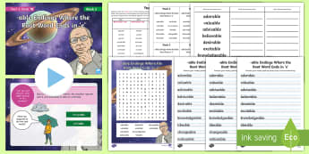 Year 6 Term 1B Week 2 Spelling Pack - Spelling Lists, Word Lists, Autumn Term, List Pack, SPaG