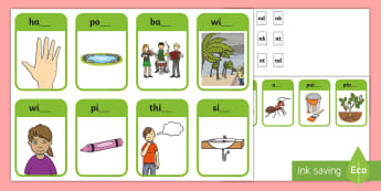 Phase 4 Consonant Blends nd, nk, nt Peg Matching Game - Letters And Sounds, Blend, Decode, Phonics, blends