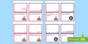Y5 Christianity Comprehension Question Cards - Y5 Religious Education Comprehension Question Cards, comprehension, question cards, reading, ACELY17