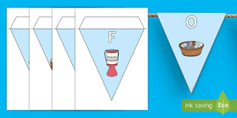 Day For Change Display Bunting - EY/KS1 Unicef