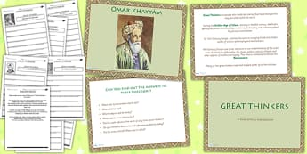 Early Islamic Civilisation Great Thinkers Lesson Teaching Pack
