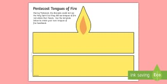 Pentecost Tongues of Fire Role Play Headbands - CfE Catholic Christianity, Pentecost, Holy Spirit, tongues of fire,Scottish