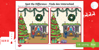 Toy Soldier Spot the Difference Activity - English/German - EAL, German, Toy Soldier Spot the Difference - spot the difference, differences, toy soldier, game,