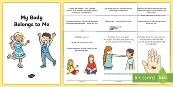My Body Belongs To Me Social Situation Booklet - body, respect, sexual health, asn, sen, safeguarding, Privacy, responsibilities