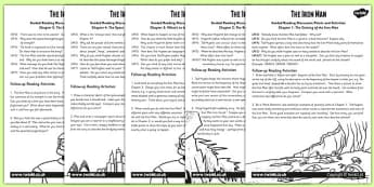 The Iron Man Guided Reading Pack - stories, story books, read