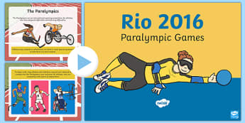 The History of the Paralympics PowerPoint