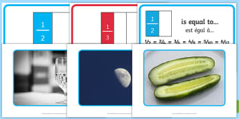 Fractions Display Pack English/French - Fractions Display Pack Year 2 - fractions, display pack, year 2, frctions, frations, factions, fract