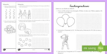 Mathematik Sachaufgaben Primary Resources - 1./2.