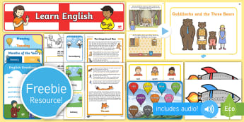 Free English and Greek Taster Resource Pack - Freebie, Sample, Taste, Test, Tester, Try, Bumper, Learning