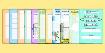Albumul meu din școala primară - Broșură - Albumul meu din școala primara, Broșură - sfârșit de an, sfarsit de scoala, tranzitie, tranziție, an scolar, cadou, cărți, citire, dar, amintiri, albume, materiale didactice, română, romana, material, materi