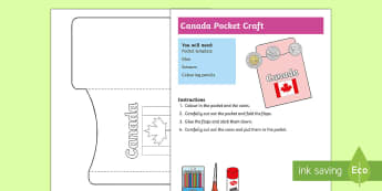 Canada Pocket Craft - Canada, canadian, currency, money, coins, CAD, canadian money, canadian dollars, purse, wallet,