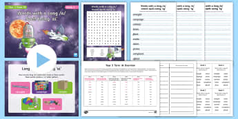 Year 3 Term 1A Week 3 Spelling Pack - Spelling Lists, Word Lists, Autumn Term, List Pack, SPaG