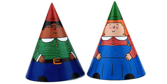 Hansel and Gretel Cone Characters - hansel and gretel, characters