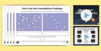 Constellations Using Numbers Dot to Dot Activity Pack - UAE Early Years Space, , EYFS, UAE, Development matters, Early Years, Dubai, Abu Dhabi, EAAD, Expres