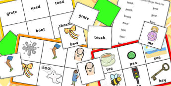 Final Phoneme Deletion Bingo - phoneme, deletion, bingo, pack