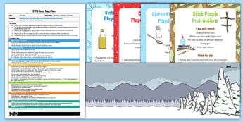EYFS Busy Bag Plan and Resource Pack to Support Teaching on Stick Man - Stick Man, Playdough, storytelling